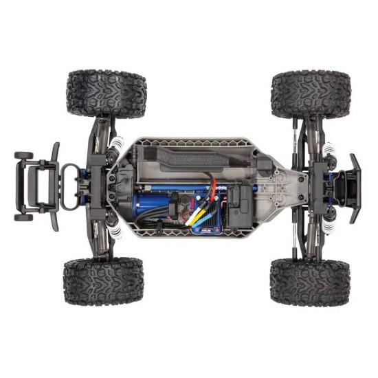 Traxxas Rustler 4x4 VXL, 2.4 GHz TQi, TSM