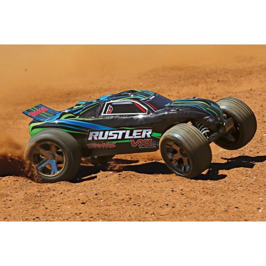 Traxxas Rustler VXL, 2.4 GHz TQi, TSM