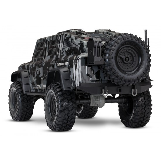 Traxxas TRX-4 Tactical Unit, 4x4, 2.4 GHz TQi