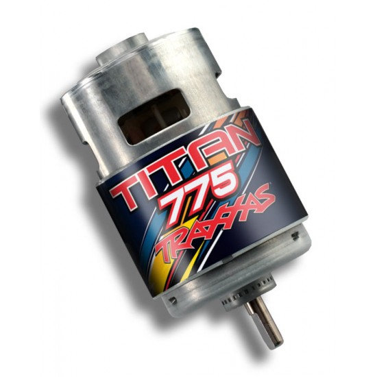 Motor, Titan 775, 10-turn, 16.8V, Traxxas Summit