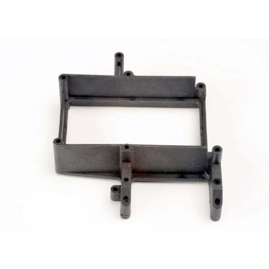 Fuel tank box holder, throttle servo mount