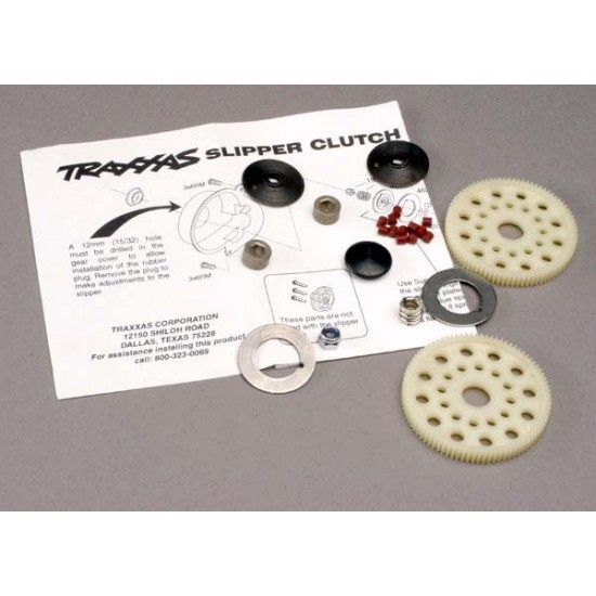 Slipper clutch set, complete