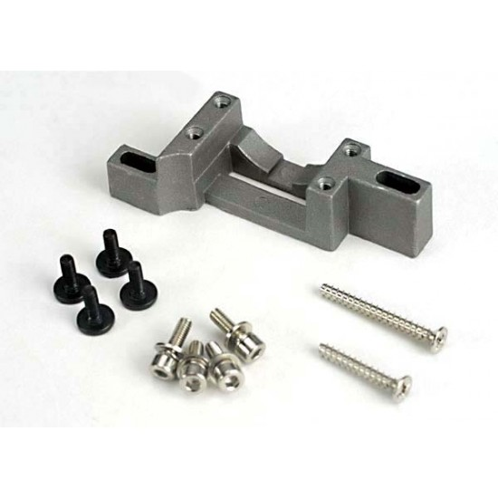 Engine mount, complete assembly, Traxxas Nitro 4-Tec