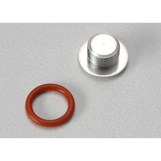 End cap, carburetor body, 6.2x1.2mm O-ring