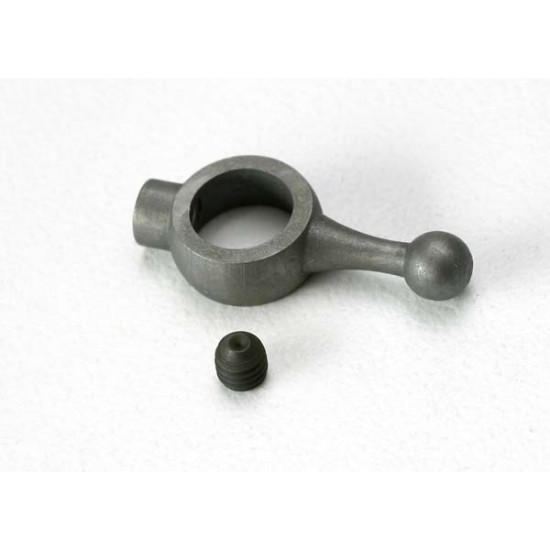 Throttle arm, carburetor, 3mm set screw