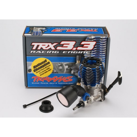 Traxxas TRX3.3 nitro engine, IPS shaft, recoil starter