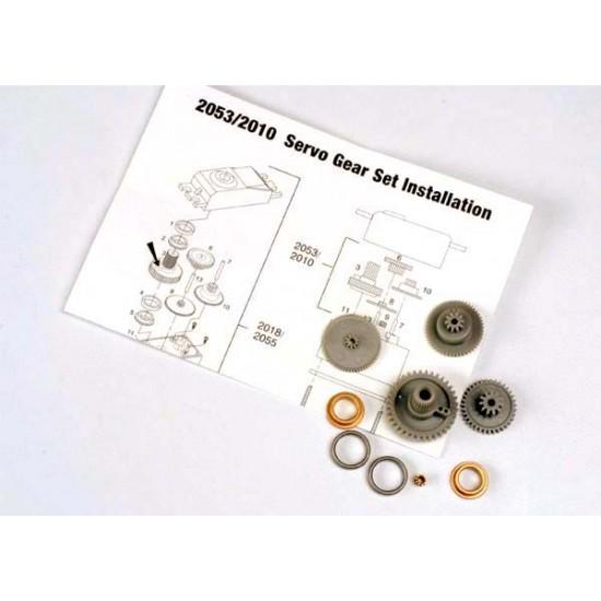 Gear set, 2055 and 2056 servo