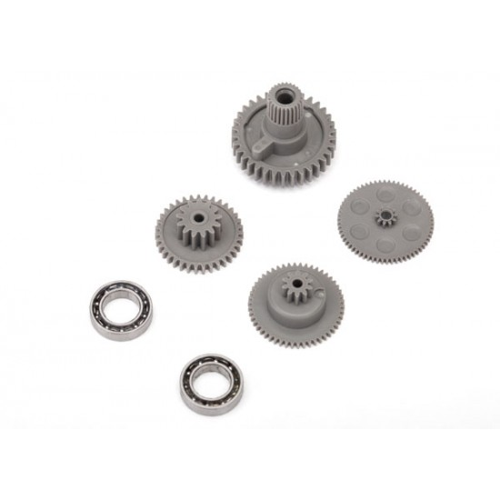 Gear set, 2070 and 2075 servo, grey