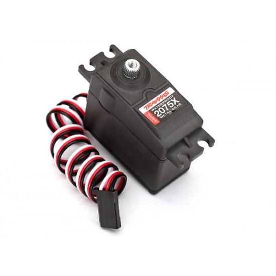 Servo, digital, high torque, metal gear, waterproof, 2075X