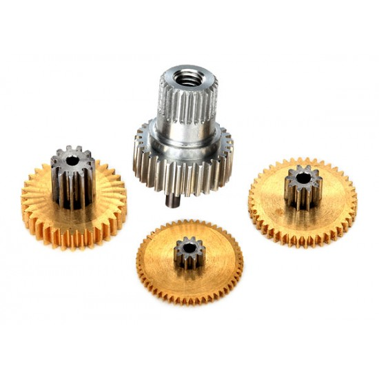 Gear set, 2080X servo, metal