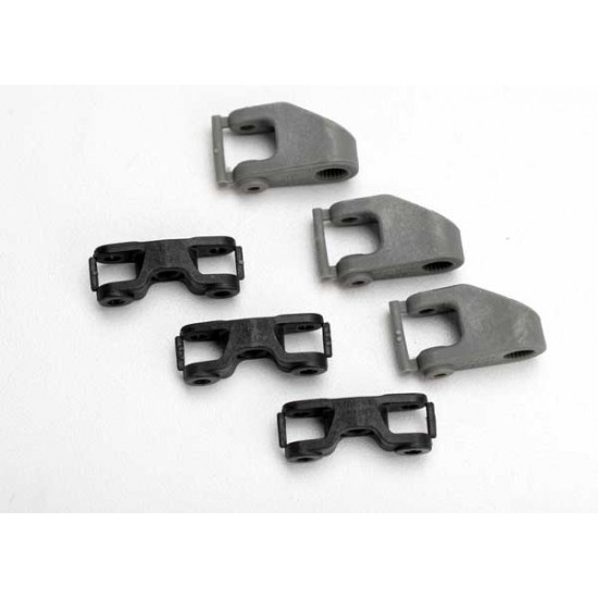 Servo horns, steering, throttle, non Traxxas servos, v.1