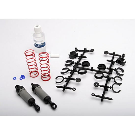 Ultra shocks, grey, long, with springs and oil (2)