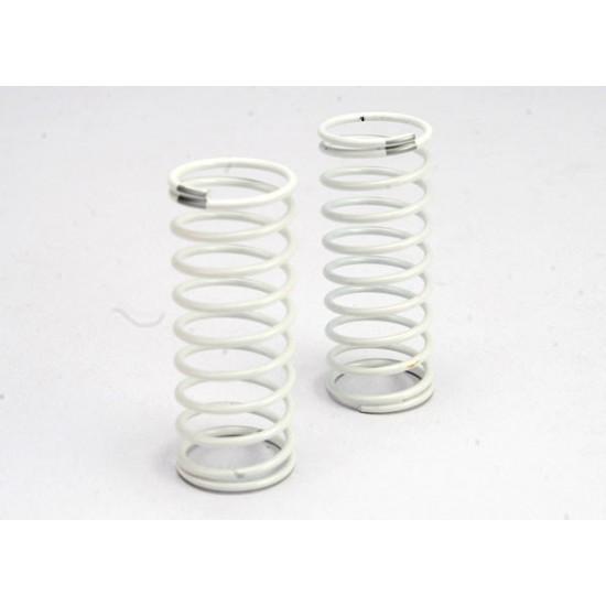 Springs, white, GTR shock, rear, 1.2 rate, silver (2)