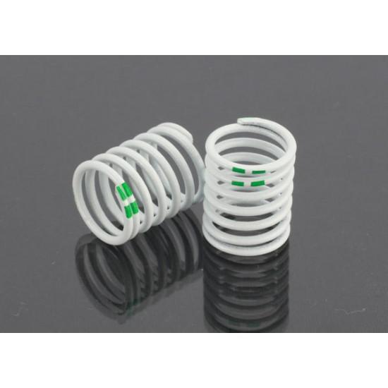Springs, 1/16 GTR shock, 2.89 rate, green (2)