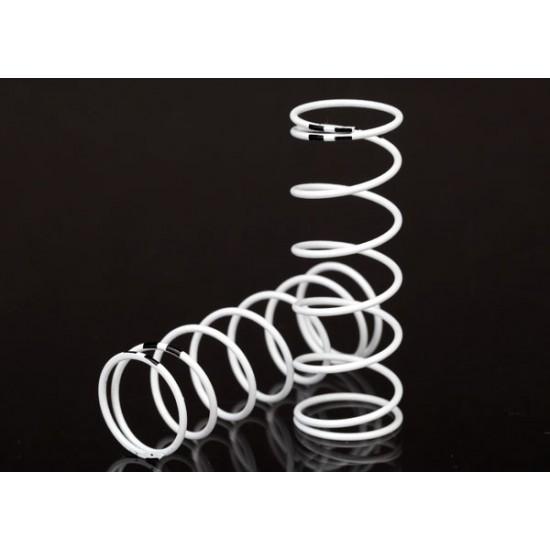 Springs, white, GTR shock, xx-long, 0.874 rate, black (2)