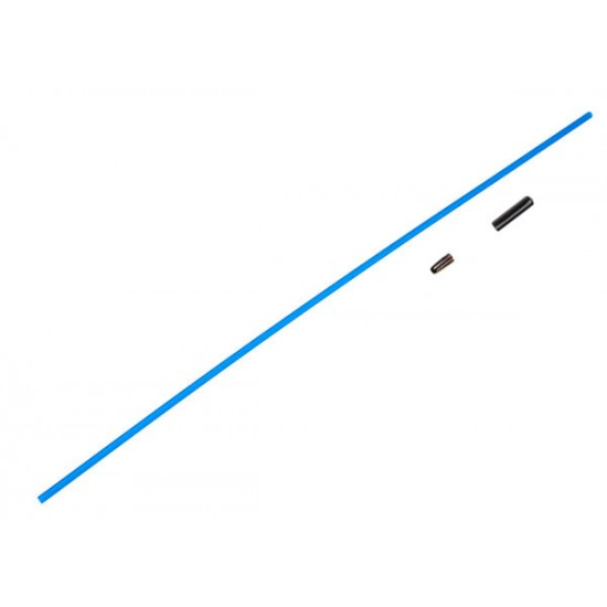 Antenna tube, vinyl antenna cap, wire retainer