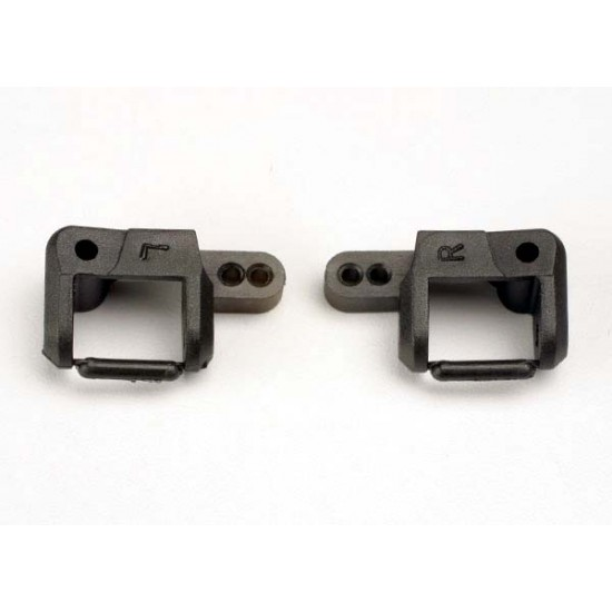 Caster blocks, left and right, 25-degree (2)
