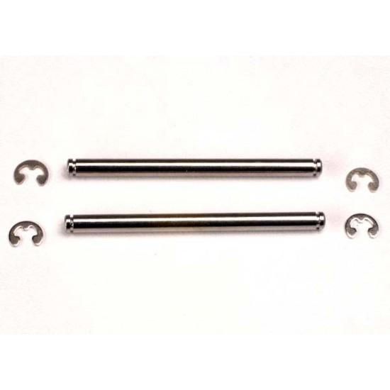 Suspension pins, 44mm, E-clips (2)