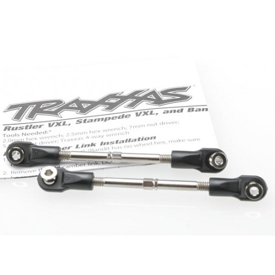 Turnbuckles, toe link, 59mm, rod ends (2)