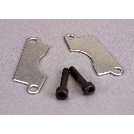 Brake pads, cap screws (2)