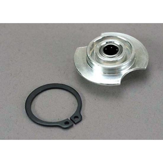 Gear hub, 1-speed, one way bearing, snap ring