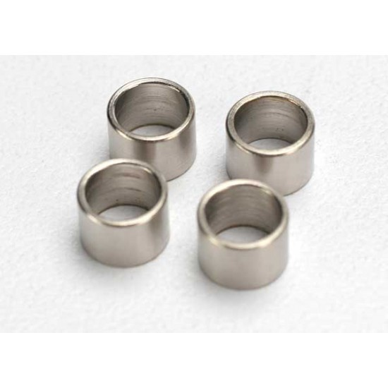 Spacers, steel, front, Traxxas Jato 3.3 (4)