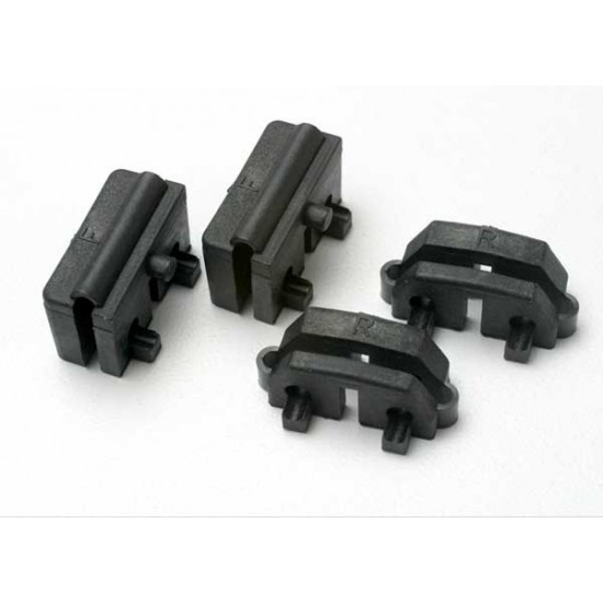 Servo mounts, steering, front and rear (4)