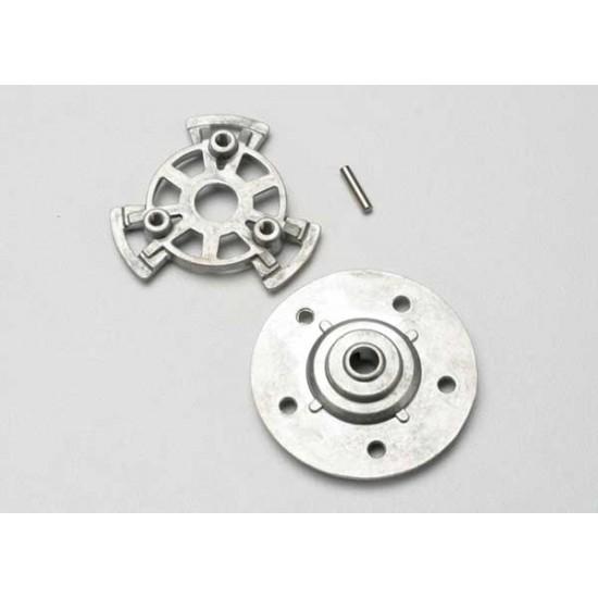 Slipper pressure plate and hub, alum.