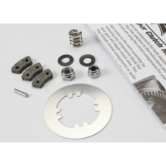 Rebuild kit, slipper clutch, friction pads