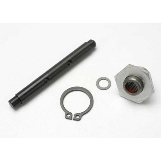 Primary shaft, 1-speed hub, one way bearing, ring