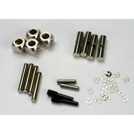 U-joints, driveshaft, cross pin, E-clips