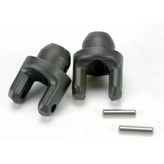 Yokes, stub axle, pins (2)