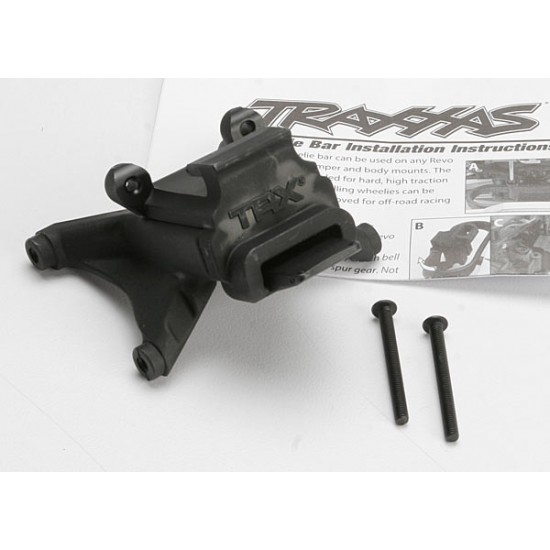 Wheelie bar mount, Traxxas Revo 3.3 / E-Revo
