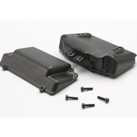 Bumper, rear, battery box, foam pad