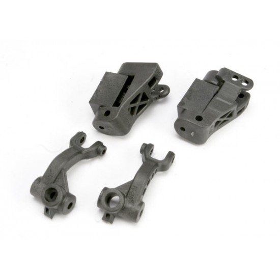 Caster blocks, lef and right, 25-degree, steering blocks