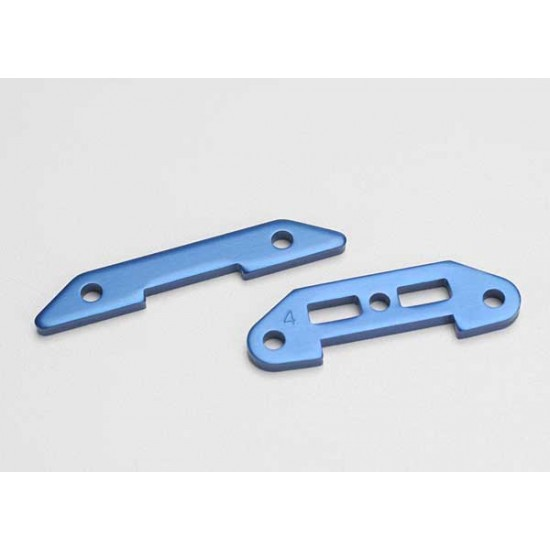 Tie bars, front and rear, aluminum
