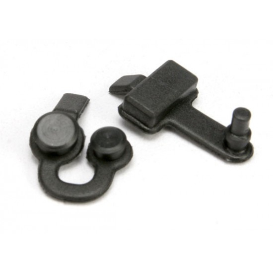 Rubber plugs, charge jack, two speed adjustment