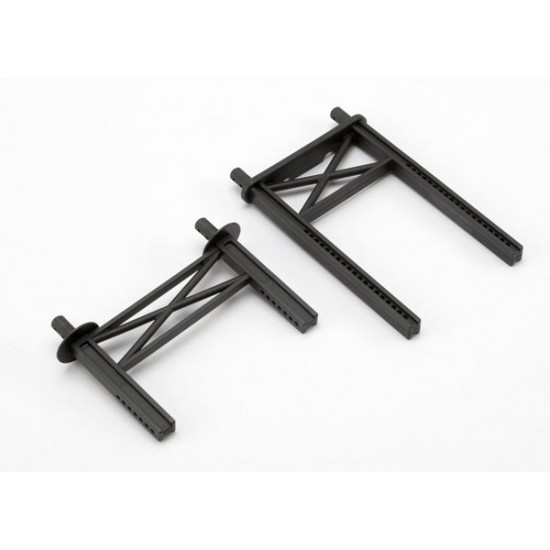 Body mount posts, front and rear, tall