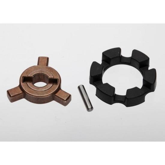 Cush drive key, pin, elastomer damper, E-Revo