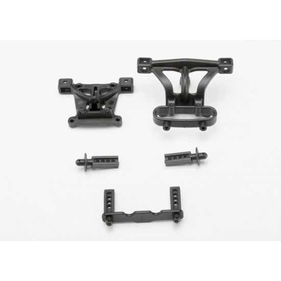 Body mounts, front and rear, body mount posts