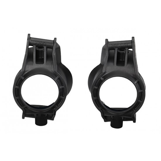 Caster blocks, c-hubs, left and right, Traxxas X-Maxx (2)