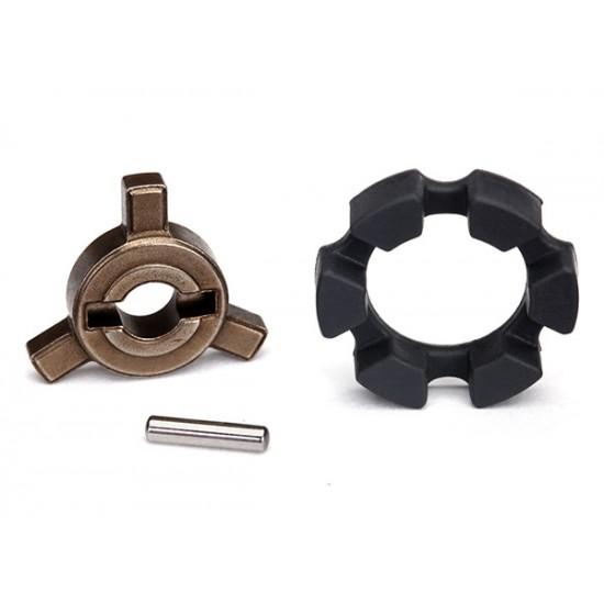 Cush drive key, pin, elastomer damper, X-Maxx