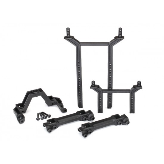 Body mounts and posts, front and rear