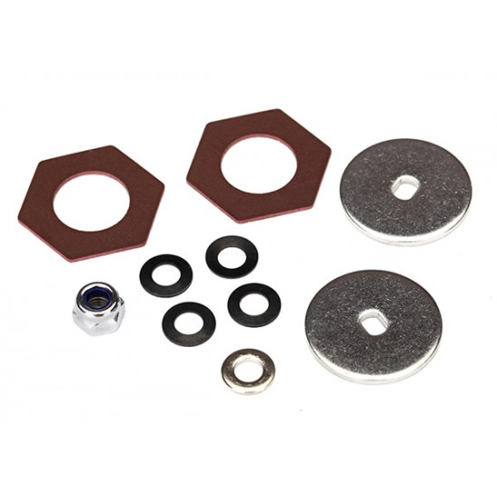 Rebuild kit, slipper clutch, steel disk, friction insterts