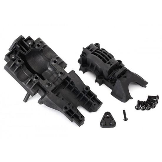 Bulkhead, rear, upper and lower, 4x12mm BCS