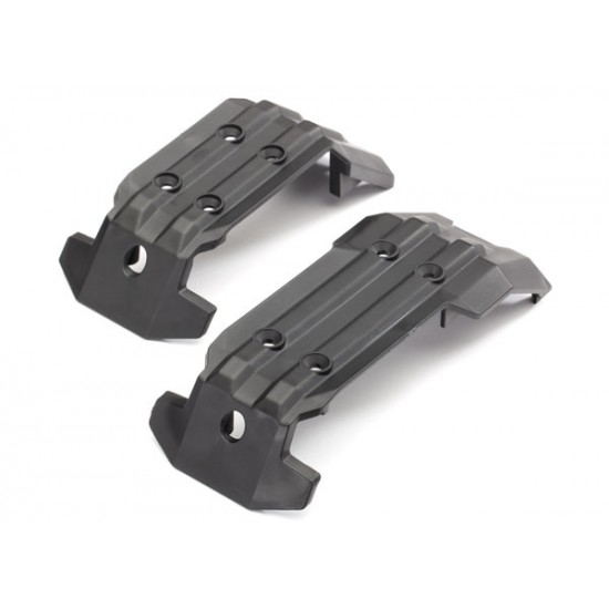 Skid plate set, front and rear