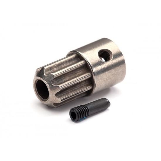 Drive hub, front, 3x10mm screw pin
