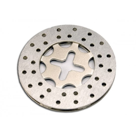 Brake disc, high performance, vented