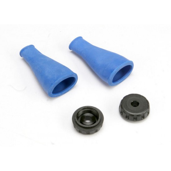 Dust boot, shock, seals and protects shock shaft (2)