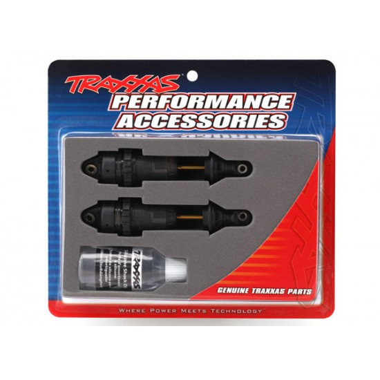 Shocks, GTR, hard anodized, long, TiN shafts (2)